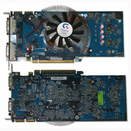 GV RX385256Н 500x500 Видеокарта на чипе ATI Radeon HD 3850