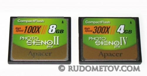 CF 8GB & 4GB