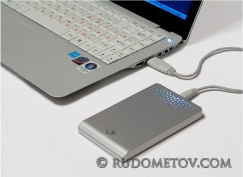 FreeAgent Go 640GB + Notebook