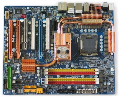 GA EP45 EXTREME 500x406 Плата экстрим на P45 (часть 2)