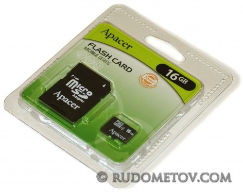 MicroSDHC 16GB kit