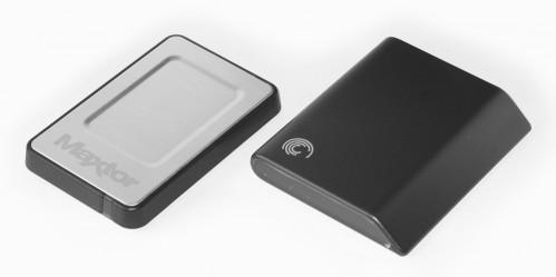 Mobile Seagate FreeAgent Go и Maxtor OneTouch 4 Mini