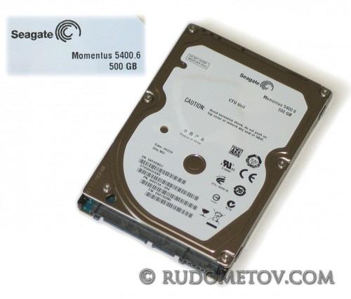 Seagate Momentus 5400.6 500GB