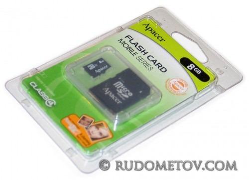 microSDHC 8GB kit
