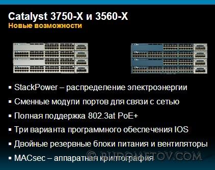 3750-X & 3560-X