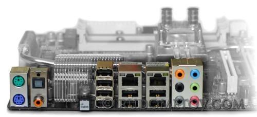 GA-EX45-EXTREME Ports