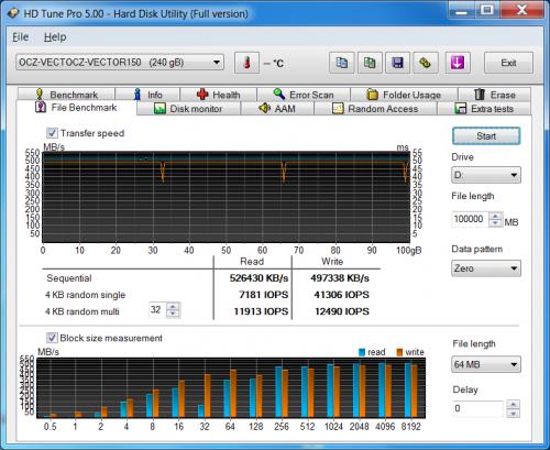 SSD Vector 150 240GB 007