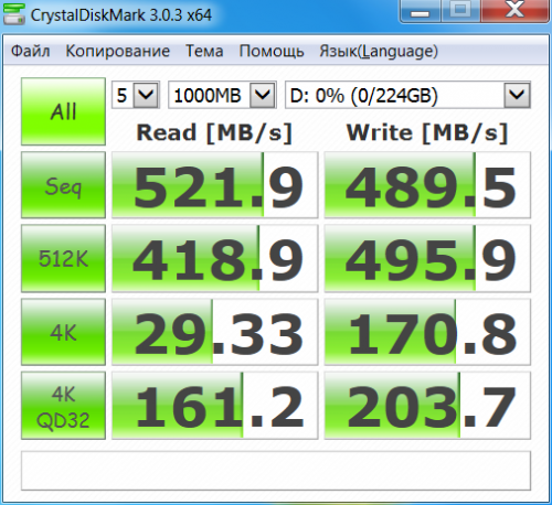 SSD Vector 150 240GB 009