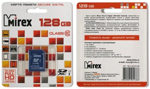 Mirex SDXC 128GB 01