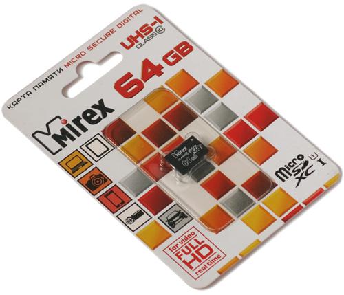 Mirex microSDXC 64GB dop