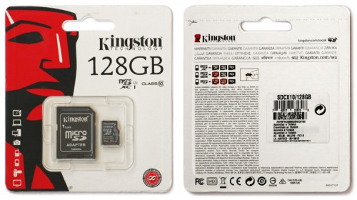 Kingston microSDXC 128GB 01
