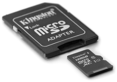 Kingston microSDXC 128GB dop