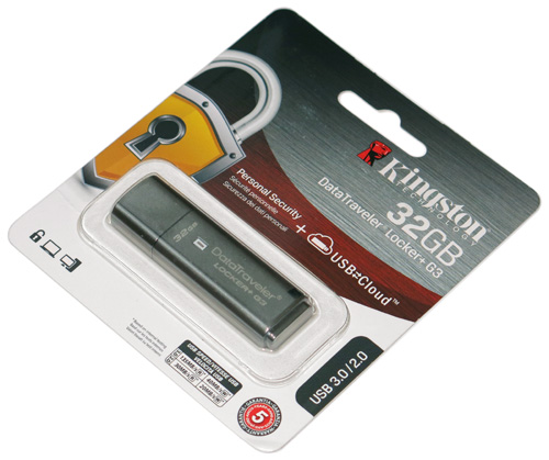 DataTraveler Locker+ G3 — USB сейф информации (часть 5)