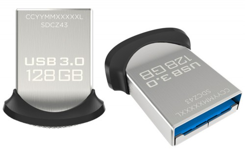 SDCZ43 128G 02 500x324 SanDisk Ultra Fit USB3.0 128GB (часть 1)