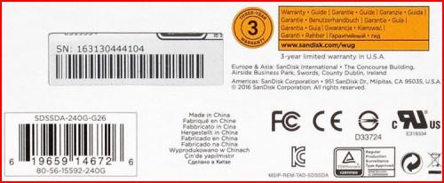SSD PLUS 05 500x206 SanDisk SDSSDA 240G G26 (часть 2)