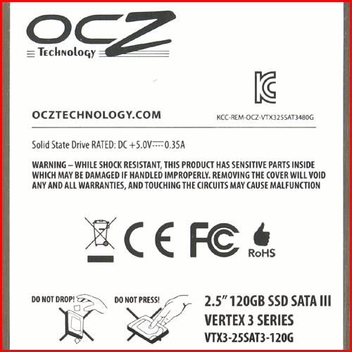 OCZ Vertex 3 04 SSD OCZ Vertex 3 120GB (часть 1)