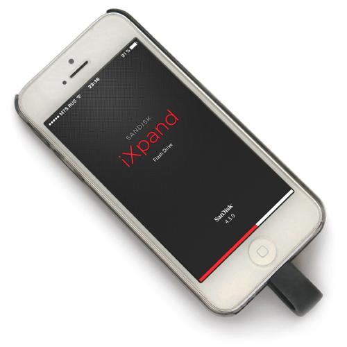 iXpand 05 1 SanDisk iXpand — накопитель для iPhone/iPad (часть 2)