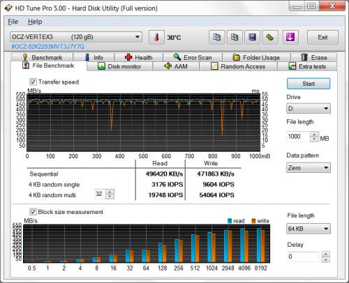 OCZ Vertex 3 10 1 500x406 SSD OCZ Vertex 3 120GB (часть 3)