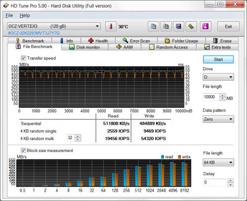 OCZ Vertex 3 10 2 500x406 SSD OCZ Vertex 3 120GB (часть 3)