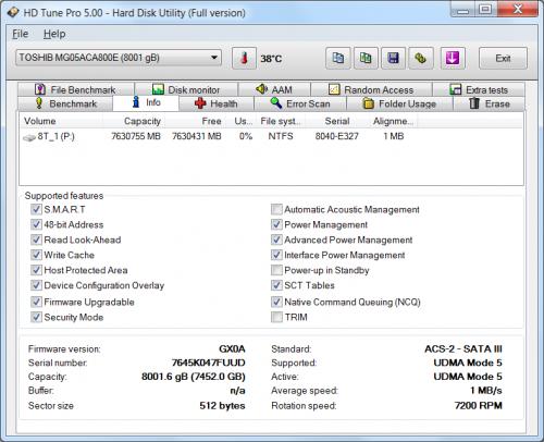 MG05ACA800E 06 500x406 Toshiba Enterprise Capacity HDD 8TB (часть 3)