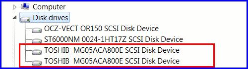 MG05ACA800E RAID 03 Toshiba Enterprise Capacity HDD 8TB в RAID 0 (часть 2)