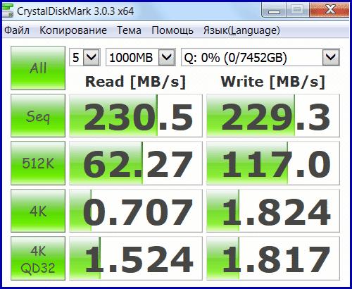 MG05ACA800E RAID 06 3 Toshiba Enterprise Capacity HDD 8TB в RAID 0 (часть 2)