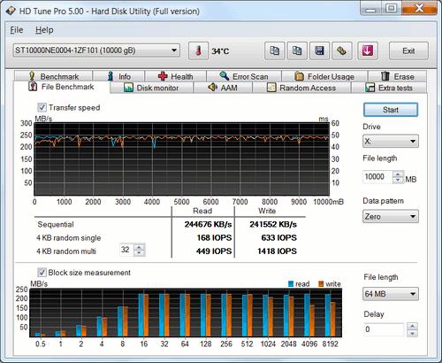 Seagate ST10000NE0004 04 2 NAS HDD Seagate IronWolf Pro 10TB