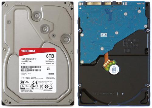 N300 6TB for NAS 01 Toshiba N300 6TB для NAS