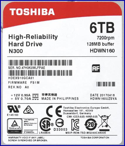 Toshiba N300 6TB 03