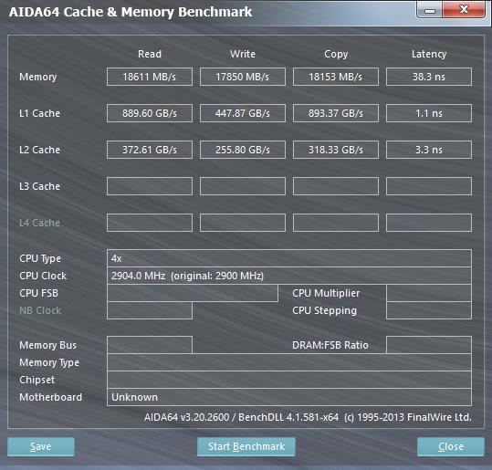 aida64 cache mem Собираем мощный компьютер небольшого размера