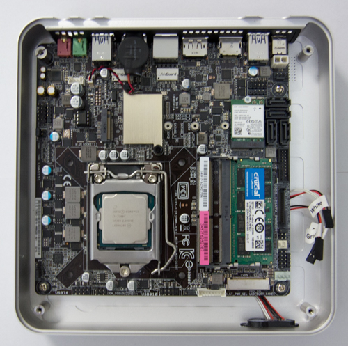 cpu mb case Собираем мощный компьютер небольшого размера