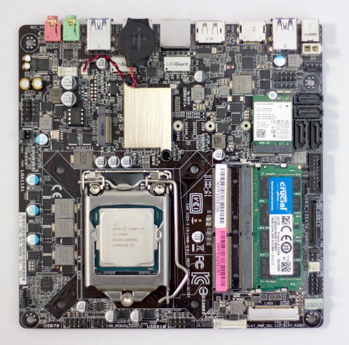mb cpu Собираем мощный компьютер небольшого размера