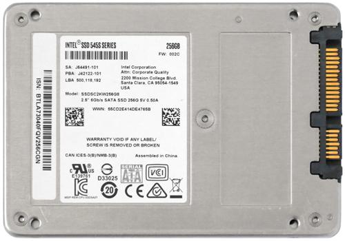 SSDSC2KW256G8 01-2