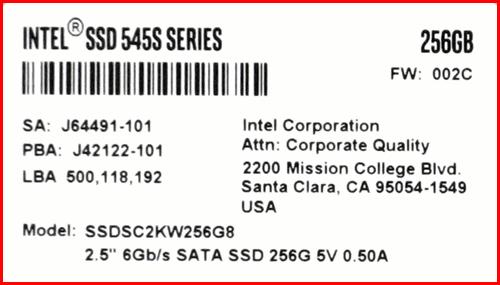 Intel 545s 256GB 03