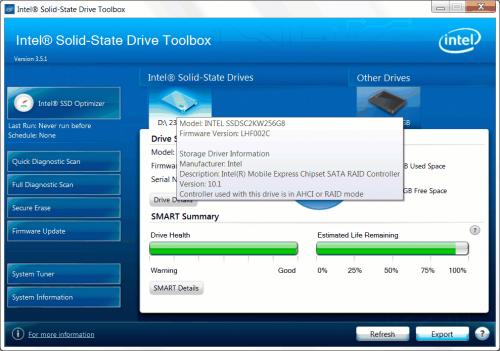 Intel 545s 256GB 06-1