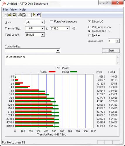 Intel 545s 256GB 10