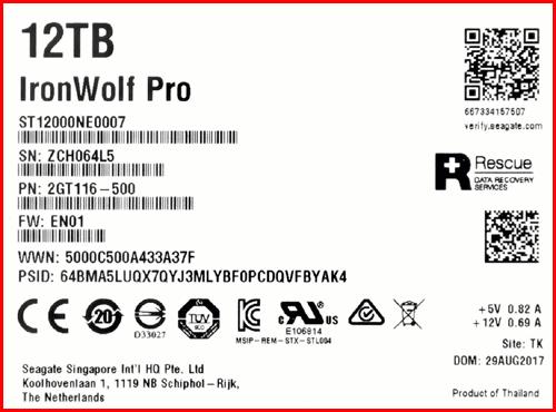 IronWolf Pro ST12000NE0007 03