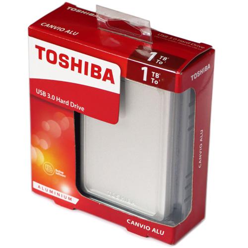 Toshiba Canvio Alu 1TB (часть 1)