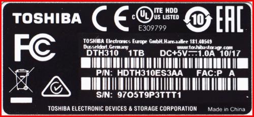 HDTH310ES3AA 03 2 Toshiba Canvio Alu 1TB (часть 1)