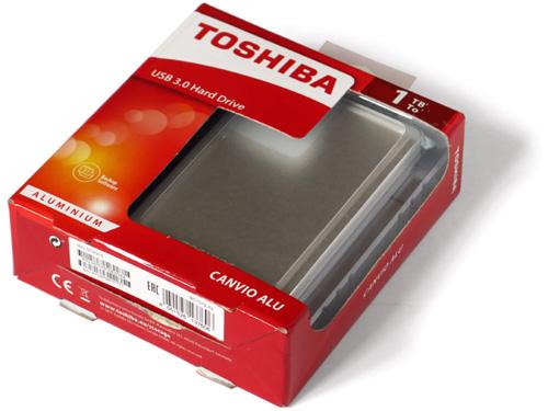 Toshiba Canvio Alu 1TB (часть 3)