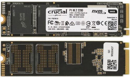 Crutial P1 500GB 03-2