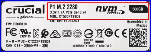 Crutial P1 500GB 04