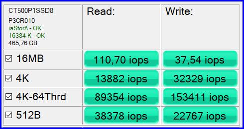 Crutial P1 500GB 08-2