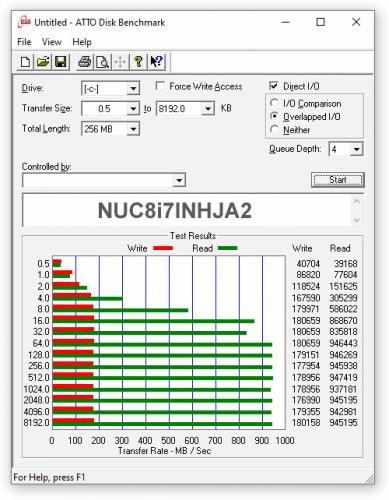 express testing NUC8i7INHJA 08