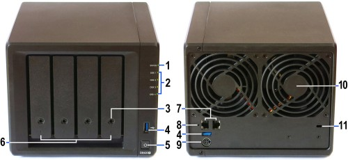 Synology DiskStation DS420+ 03