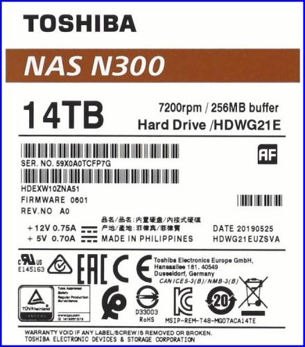 Toshiba N300 14TB 03