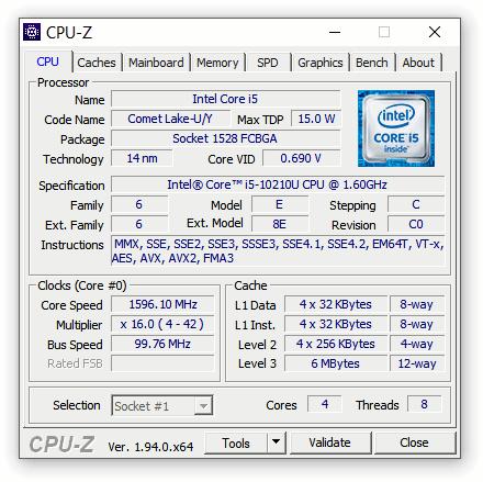 express testing NUC10i5FNKPA 03 Экспресс тест Intel NUC 10 Performance Mini PC