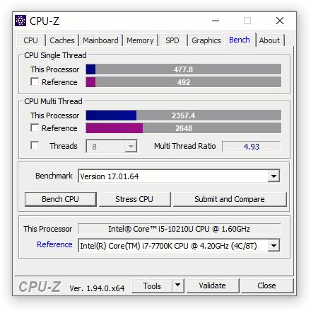 express testing NUC10i5FNKPA 06 Экспресс тест Intel NUC 10 Performance Mini PC