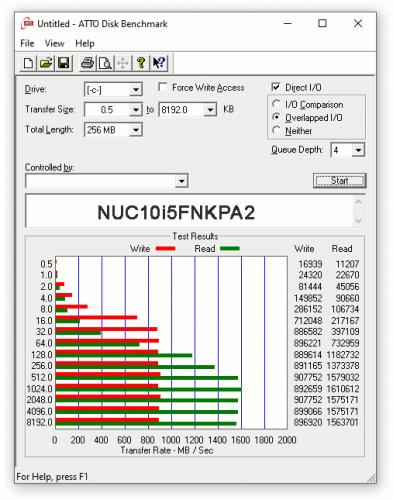 express testing NUC10i5FNKPA 08 393x500 Экспресс тест Intel NUC 10 Performance Mini PC