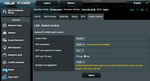 Asus LinkAggregation 500x271 1Гбит + 1Гбит=2 Гбит: Настраиваем Link Aggregation между роутером Asus RT AX89X и Synology NAS DS920+